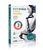 Антивирус ESET NOD32 Smart Security на 12 мес на 3ПК