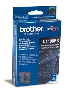 Картридж Brother LC1100Bk чёрный