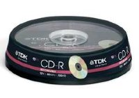 CD-R 700Mb TDK 52x CakeBox (10шт)